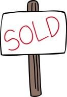 Sold Sign drawing
