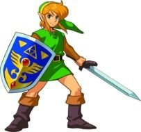 Link, character from The Legend of Zelda