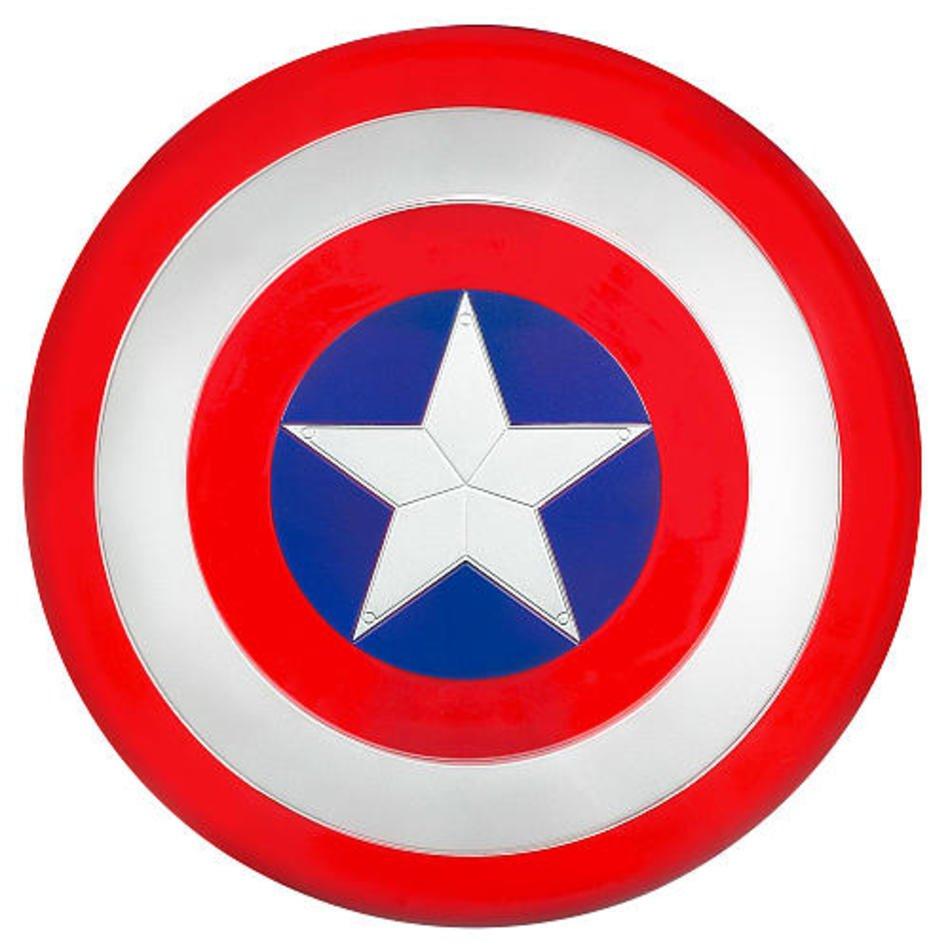 Captain America Shield Template