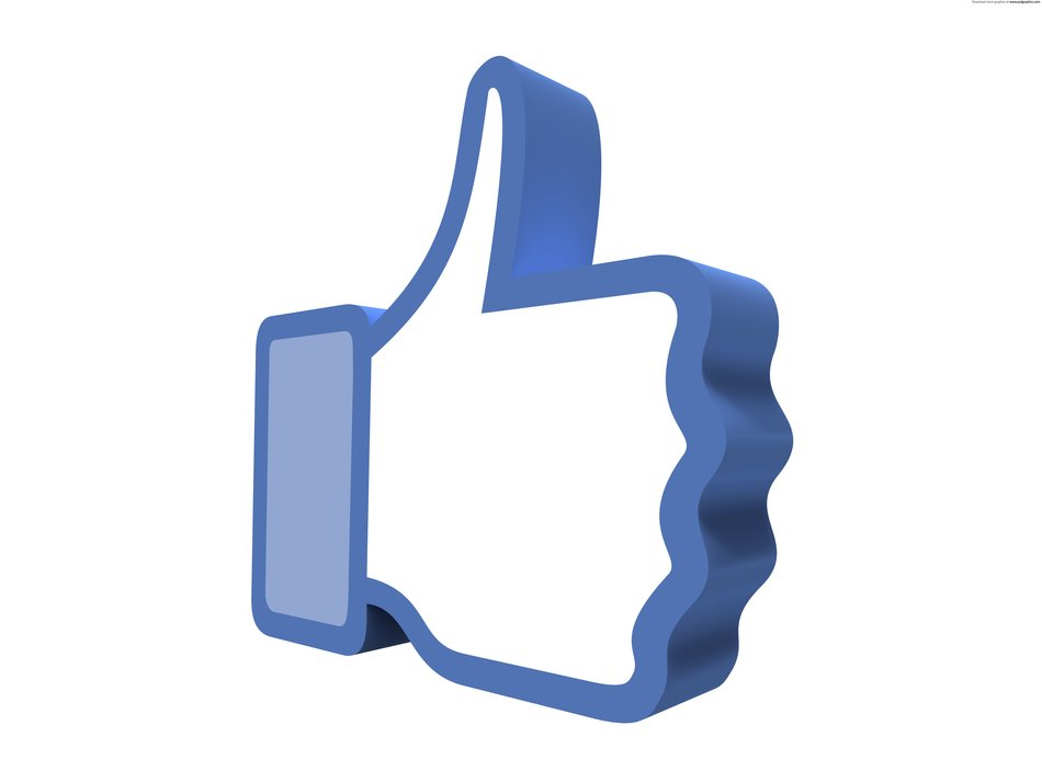 blue Facebook Like Button