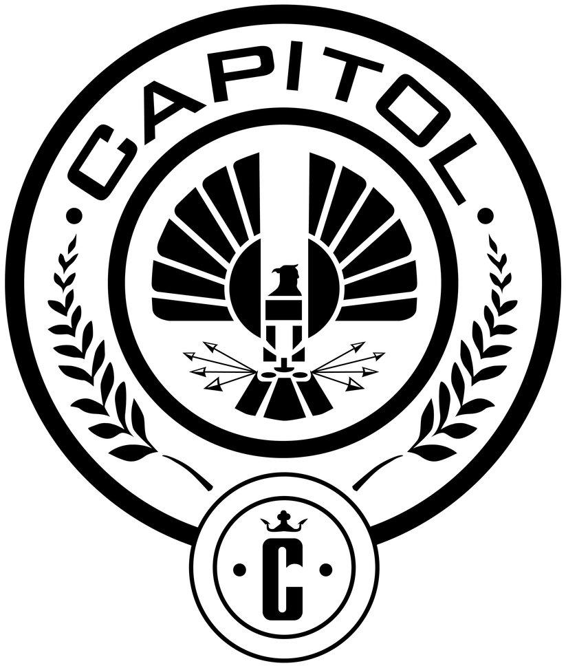 Hunger Games Capitol Symbol Drawing Free Image