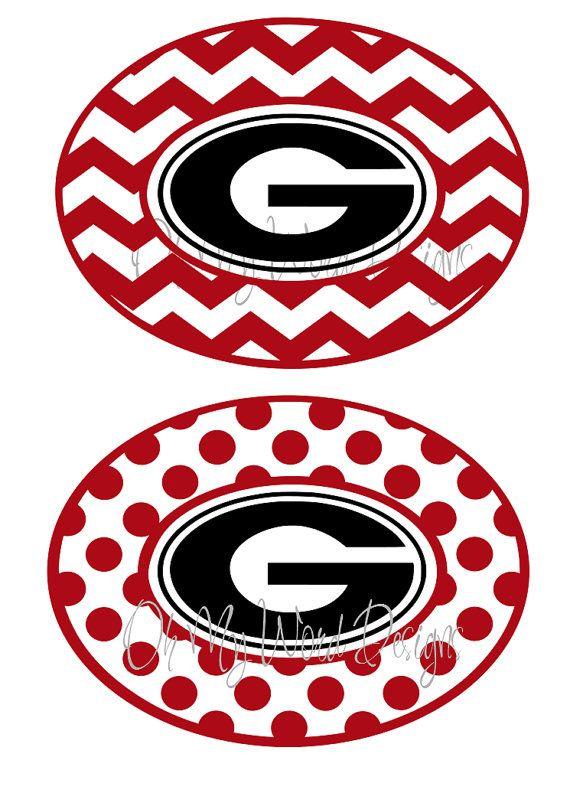 Georgia Bulldogs Car Decals
