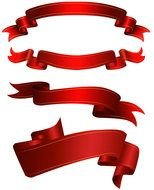 Red Ribbon Banner Clip Art N7