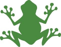 Cartoon Frog Clip Art drawing