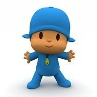 Pocoyo Cartoon drawing