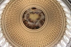 Rotunda Capitol Building Washington DC