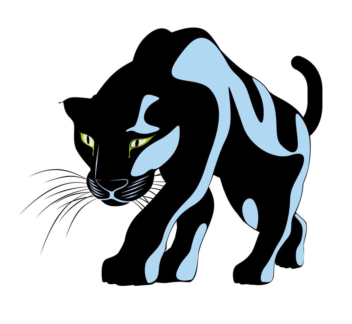 Black Panther Drawing Free Image