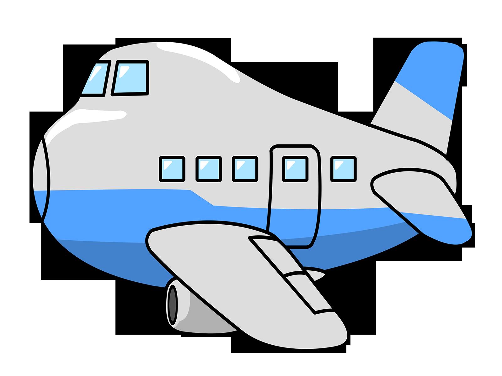 Airplane Cartoon Grey Drawing Free Image