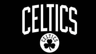 Boston Celtics Logo text drawing