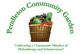 Clipart of Community Garden Logo