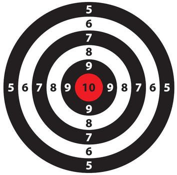 graphic regarding Funny Printable Targets referred to as Printable Capturing Ambitions no cost picture