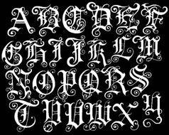 Fancy Tattoo Fonts Generator free image