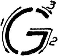 Capital Letter G drawing