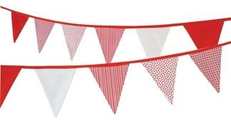 isolated flag bunting