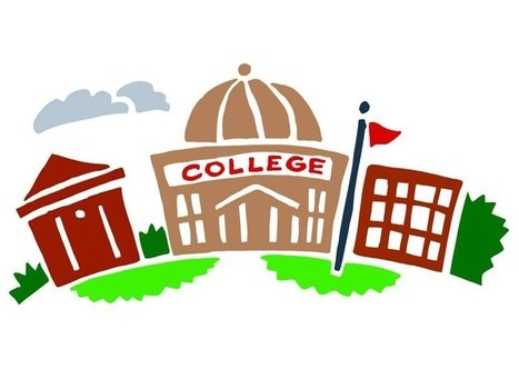 College house Clip Art drawing