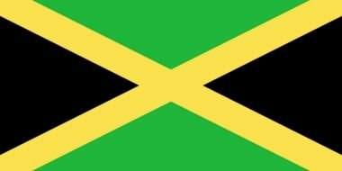 green Jamaica Flag drawing