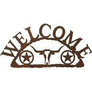 Texas Star Welcome Sign