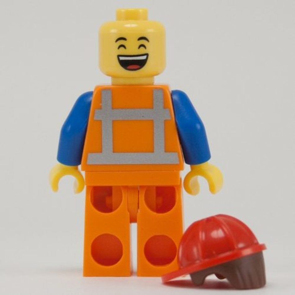 Lego Minifigures Hard Hat Emmet Movie free image