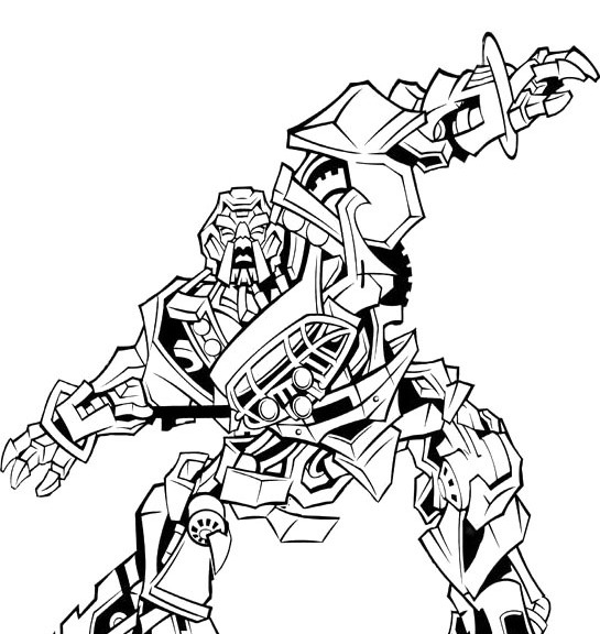 - Transformers Coloring Pages Free Image