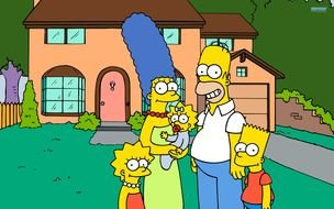 Funny Simpson Family drawing