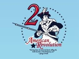 American Revolution Logo drawing