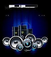 clipart of the DJ Speakers