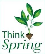 Think Spring Clip Art drawing