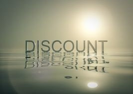 advertise background best discount poster