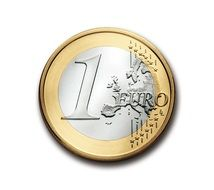 euro 1 coin currency europe money