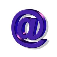 purple email sign