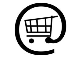 the picture depicting of the shopping cart for online shopping