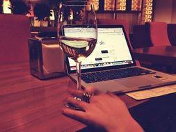 macbook wine google laptop