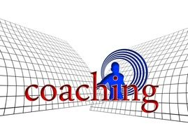 Clipart of coaching sign on a banner
