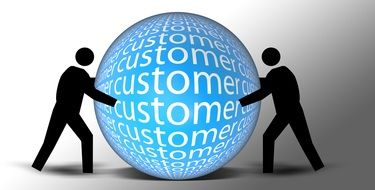 ball about customer buyer