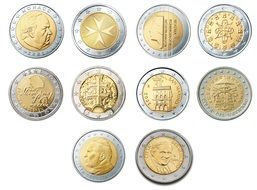 2 euro coin europe money