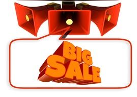 banner showing big sale