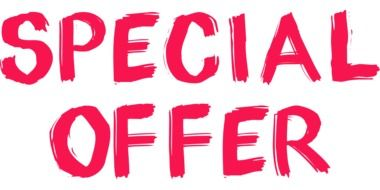 Clipart of special offer sign