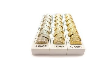 money euro change
