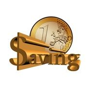 Symbol of bank savings