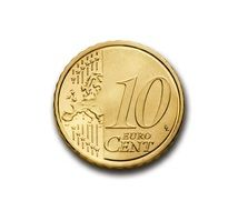 cent 10 euro coin currency europe