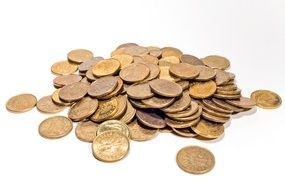 Money in form of gold coins