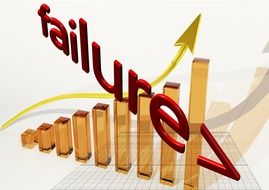 Clipart of failure boom