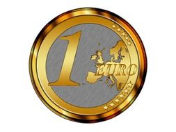 euro coin money currency