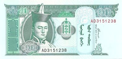 banknote money scan drawing