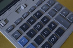 calculation keypad