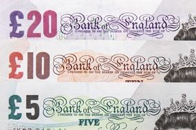Banknotes in England