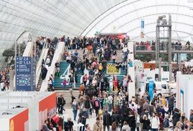 A lot of people in book fair