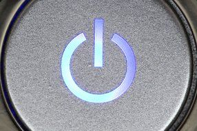 business button close computer drawing