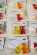 packaged chewing candy gummi bears