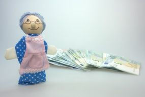 grandma doll pension shortening